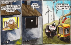 Irish- Scottish Power Sharing Agreement by Iain Green