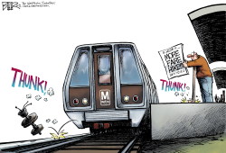 LOCAL DC - Metro Fare Hike  by Nate Beeler