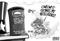 Painful State of the Union by Eric Allie