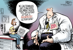 Contraception Mandate  by Nate Beeler