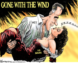 Gone With the Wind by Kevin Siers