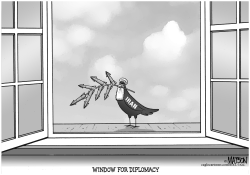 Window for Diplomacy with Iran by RJ Matson