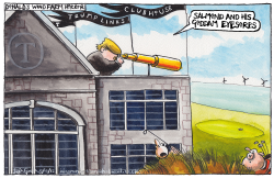 DONALD TRUMPS SCOTTISH WIND FARM HELL by Iain Green
