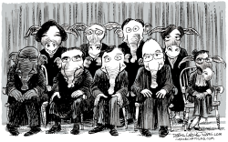 Partisan Supreme Court by Daryl Cagle