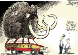 Republicans On Board by Pat Bagley