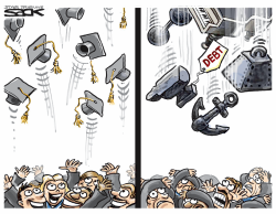 Student Debt by Steve Sack
