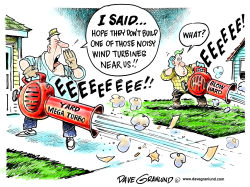 Wind turbines and noise by Dave Granlund