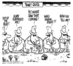 Tenet Quits by Mike Lane