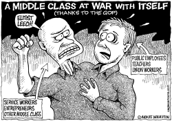 GOP Turns Middle Class Against Itself by Wolverton