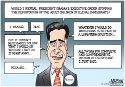 Mitt Romney's Long-Term Solution For Immigration Reform Politics by RJ Matson