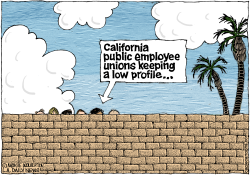 LOCAL-CA California Public Employee Unions Keep a Low Profile  by Wolverton