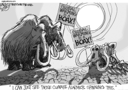 Mammoth Climate Change by Pat Bagley