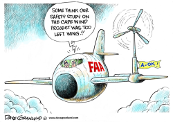FAA and Cape Wind project by Dave Granlund