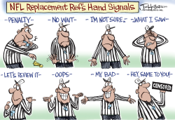 NFL Refs by Joe Heller