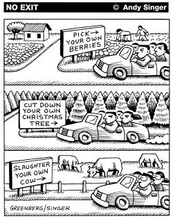 Kill Your Own Cow by Andy Singer