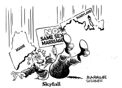 Maine, Marylahnd vote for same sex marriage by Jimmy Margulies
