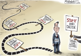 Decision Time by Joe Heller, Green Bay Press-Gazette