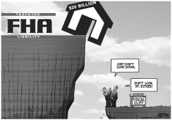 FHA Cliff by RJ Matson