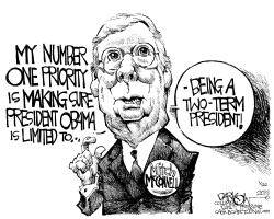 Mitch McConnell by John Darkow