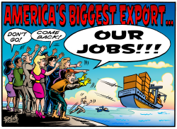 America's Biggest Export, Our Jobs by Keith Tucker