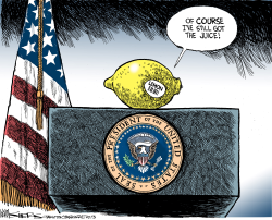 The Juice by Kevin Siers