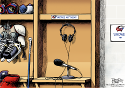 LOCAL OH - Blue Jackets Radio  by Nate Beeler