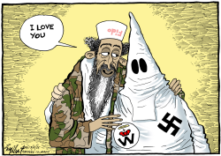 Hate Group Love by Bob Englehart