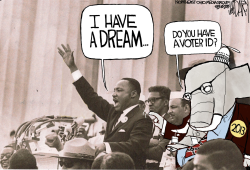 MLK dream  GOP nightmare by Jeff Darcy