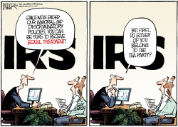 IRS and Gays  by Nate Beeler