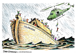 ado flooding by Dave Granlund