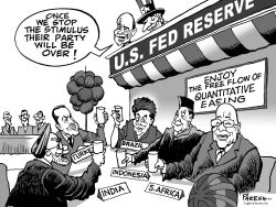 American stimulus by Paresh Nath