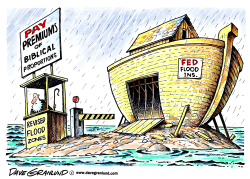 Flood insurance rates by Dave Granlund