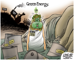 Green Energy  by John Cole