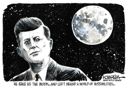 JFK by Jeff Koterba
