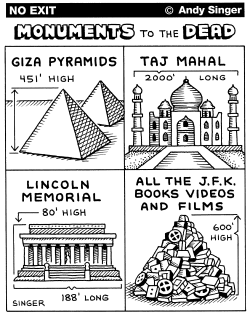 Monuments to the Dead by Andy Singer