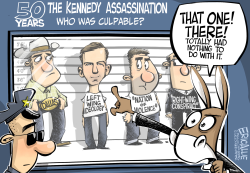 Kennedy assassination by Eric Allie