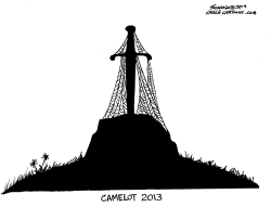 camelot 2013 by Bill Schorr