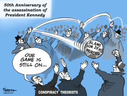 Kennedy murder conspiracy by Paresh Nath