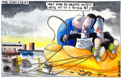 UK STORMY ECONOMIC RECOVERY by Iain Green
