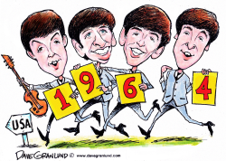 Beatles 1964 USA by Dave Granlund