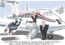 The Persecuted Rich  by Pat Bagley