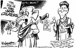 Job Creators by Milt Priggee