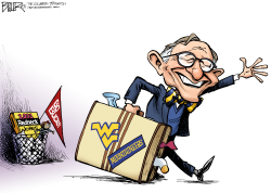 LOCAL OH - Gordon Gee  by Nate Beeler