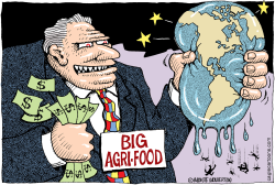 World in the Grip of Big Agri-Food  by Wolverton