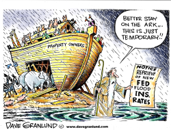 Flood Ins rate reprieve by Dave Granlund