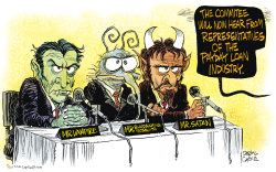 Payday Loan Hearings  by Daryl Cagle