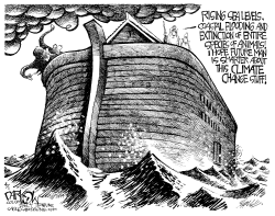 Noah and Climate Change by John Darkow