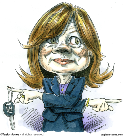General Motors CEO Mary Barra -  by Taylor Jones
