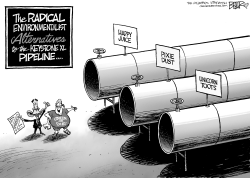 Keystone Alternatives by Nate Beeler