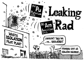 Radiation Leak by John Trever